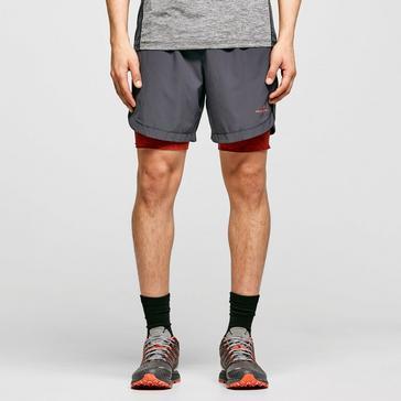 "Grey Ronhill Men's Life 7"" Twin Shorts"