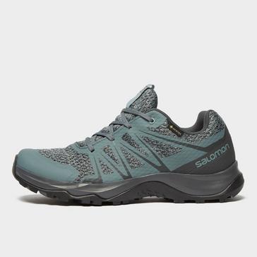 Grey Salomon Women's Warra GORE-TEX® Hiking Shoe