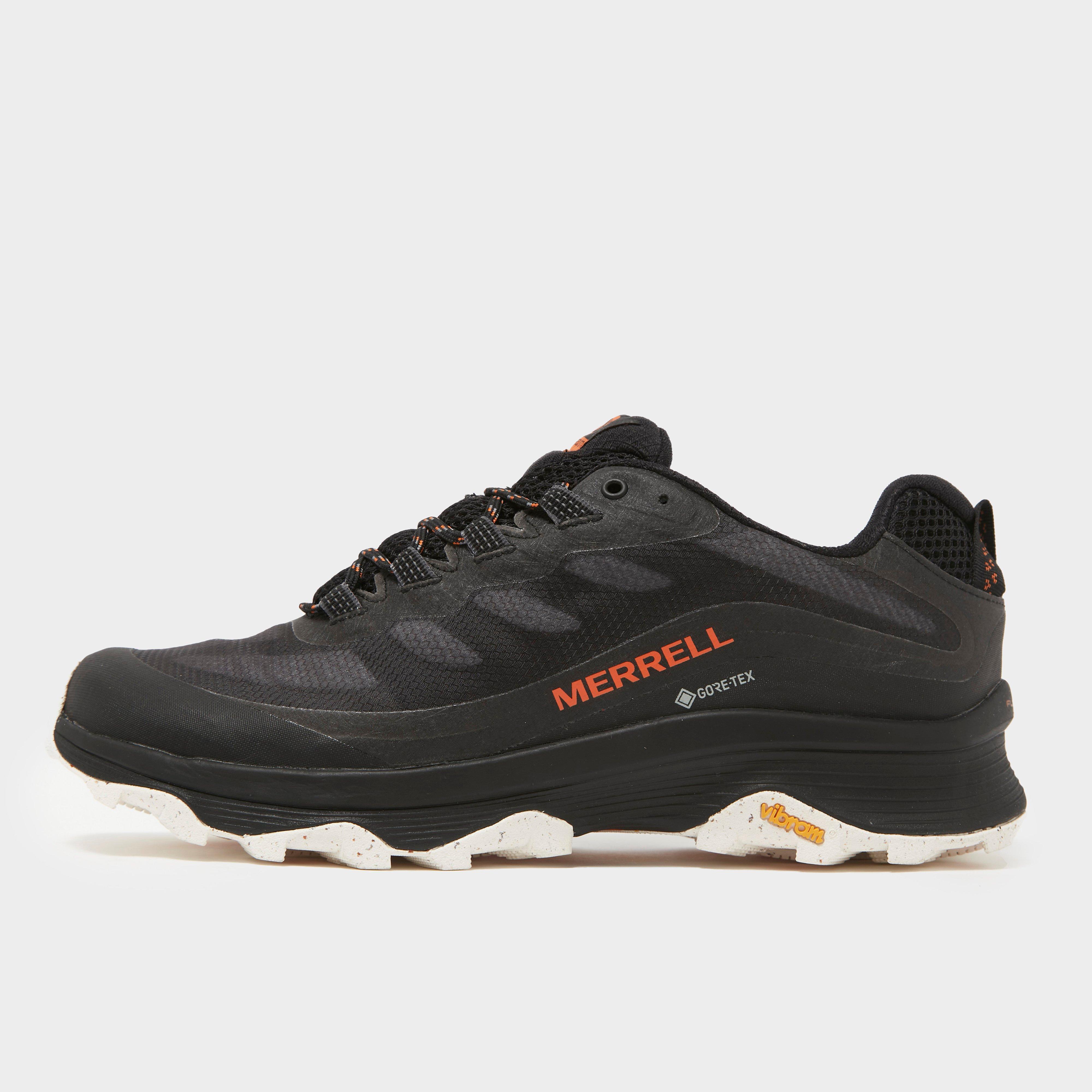Merrell Men's Moab Speed Gore-Tex Shoe - Black/Black, Black