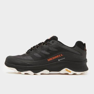 Black Merrell Men's Moab Speed GORE-TEX Shoe