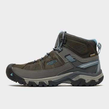 Grey Keen Women's Targhee III Waterproof Hiking Boot