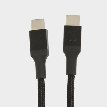 Black Scosche strikeLINETM Braided USB-C/USC-C Cable