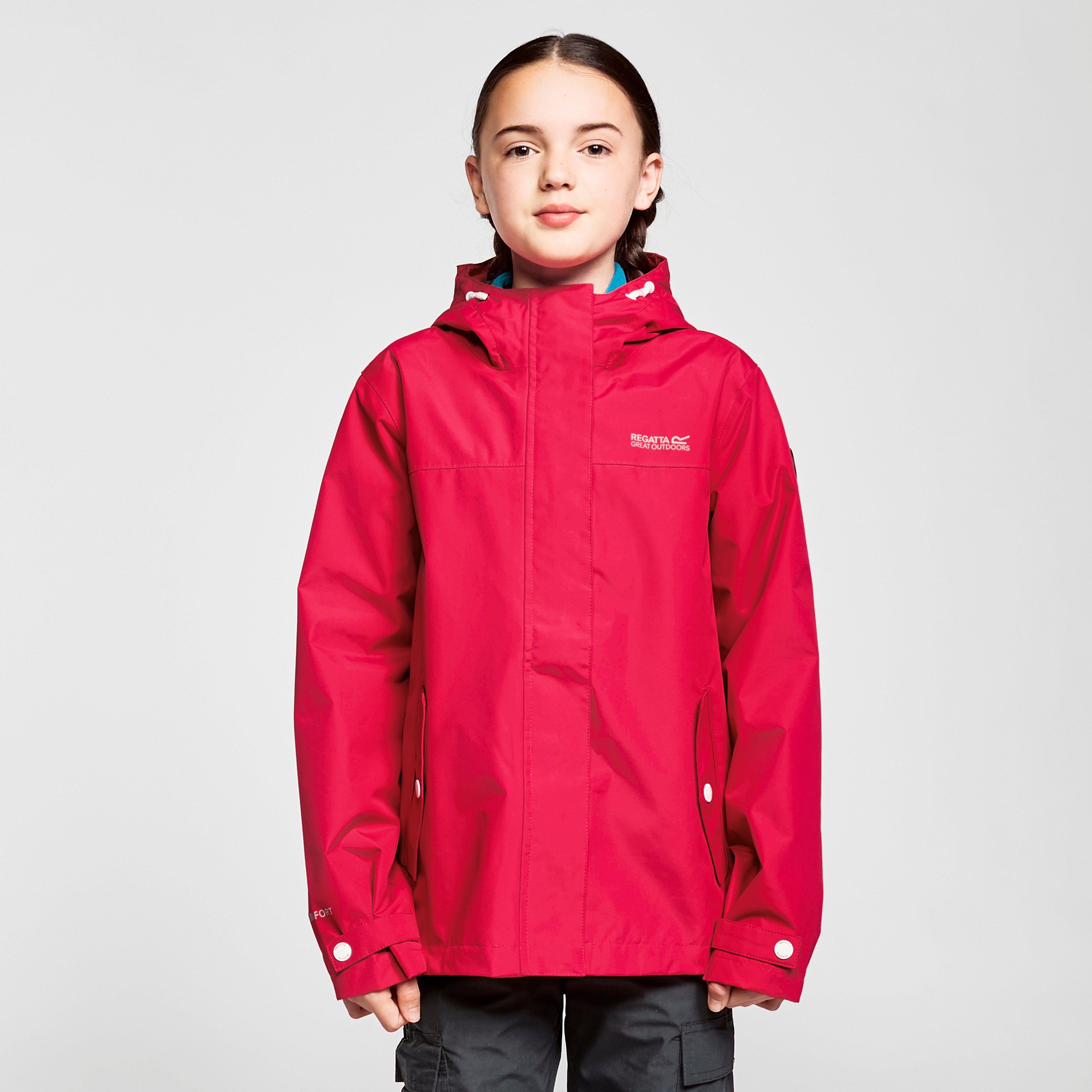 Regatta Kids' Bibiana Waterproof Jacket - Pnk/Pnk, Pink