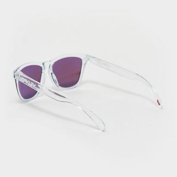 Clear Oakley Frogskins Sunglasses