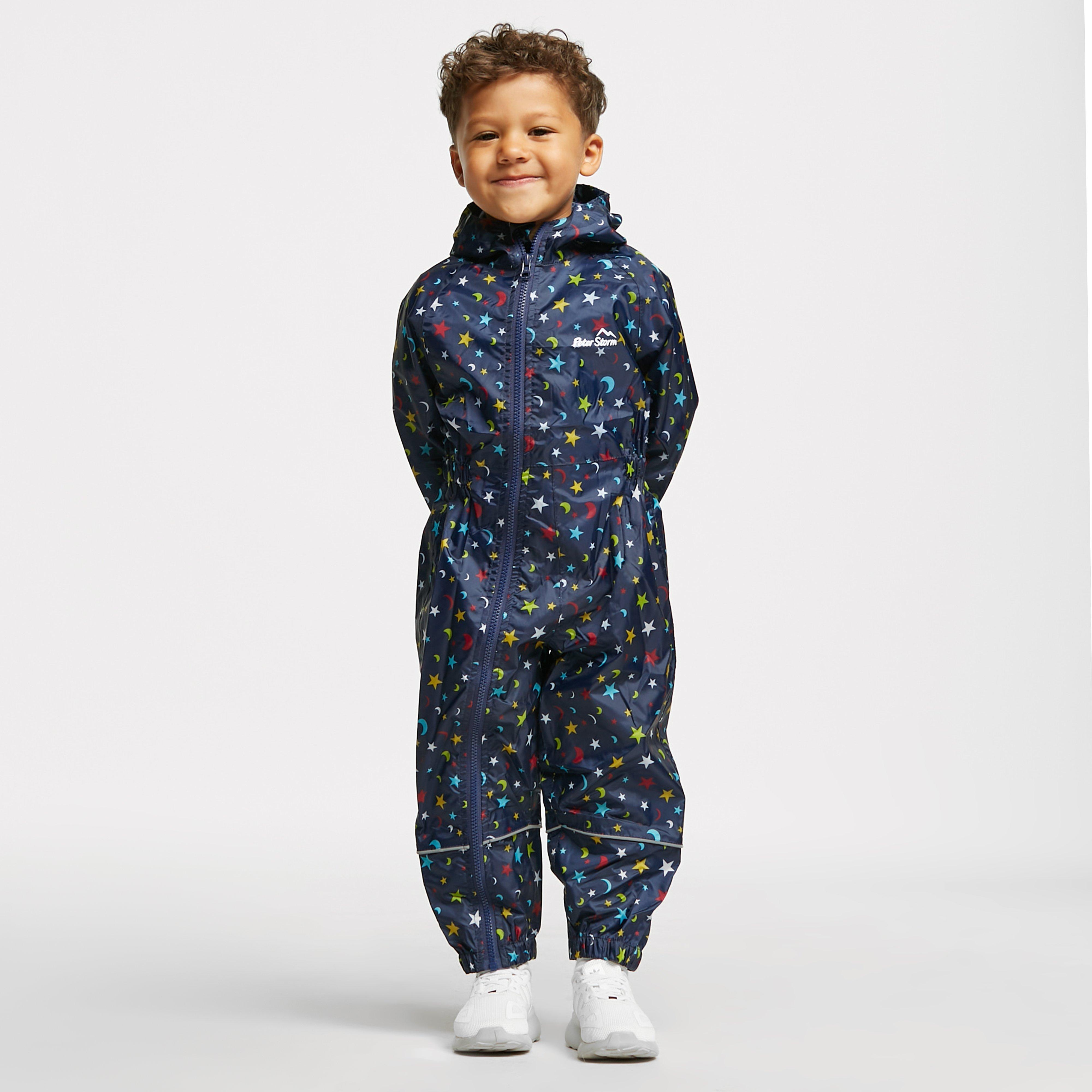 Image of Peter Storm Kids' Waterproof Suit - Navy/Nvy, Navy/NVY