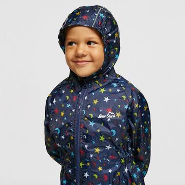 Navy Peter Storm Kids' Waterproof Suit