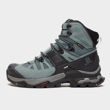Grey Salomon Women's Quest 4 GORE-TEX Hiking Boot