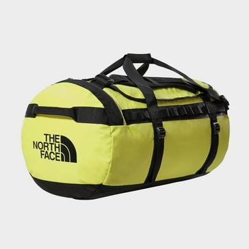 Green The North Face Base Camp Duffel Bag (Large)