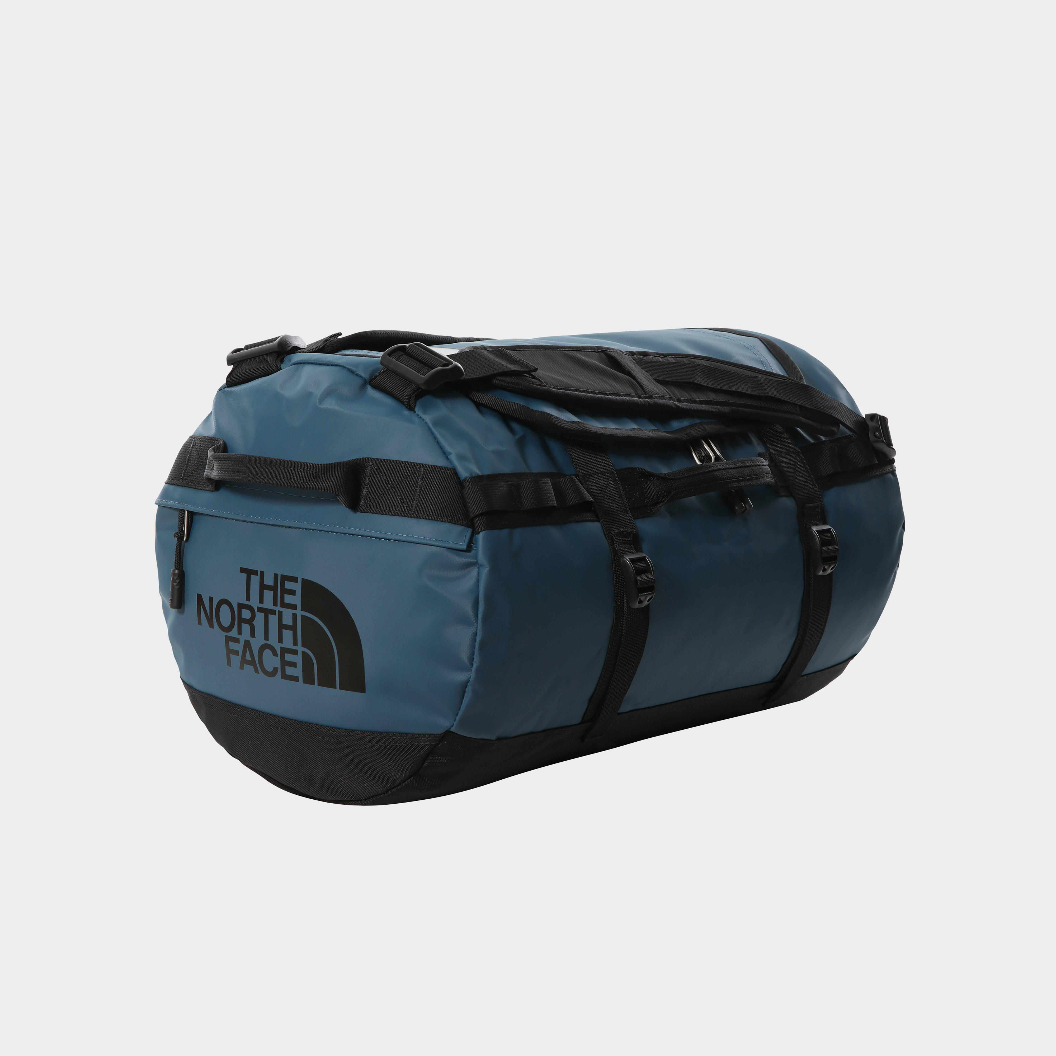 The North Face Basecamp Duffel Bag (Small) - Blue/Dbl, Blue/Dark Blue