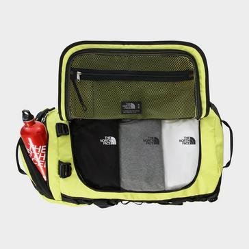 Yellow The North Face Base Camp Duffel Bag (Medium)