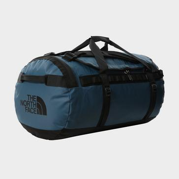 Blue The North Face Basecamp Duffel Bag (Large)