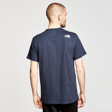 Blue The North Face Men's Half Dome T-Shirt