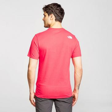 Red The North Face Men's Half Dome Short-sleeve Tee
