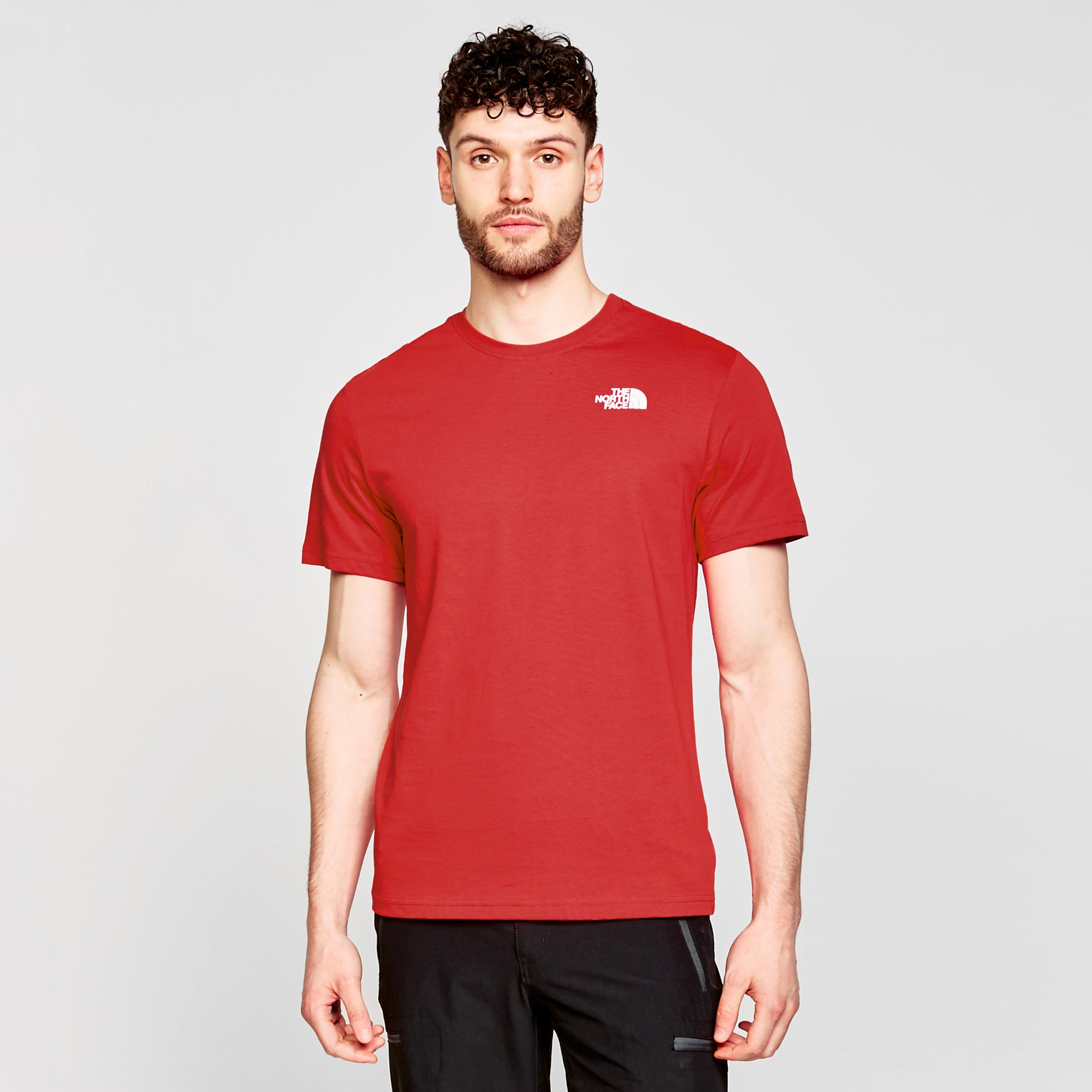 Image of The North Face Red Box T-Shirt - Red/Red, Red/RED