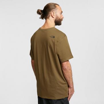 KHAKI The North Face Men's Easy Short-sleeve T-shirt
