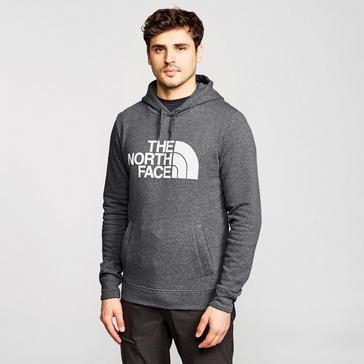 Grey The North Face Men's Half Dome Hoodie