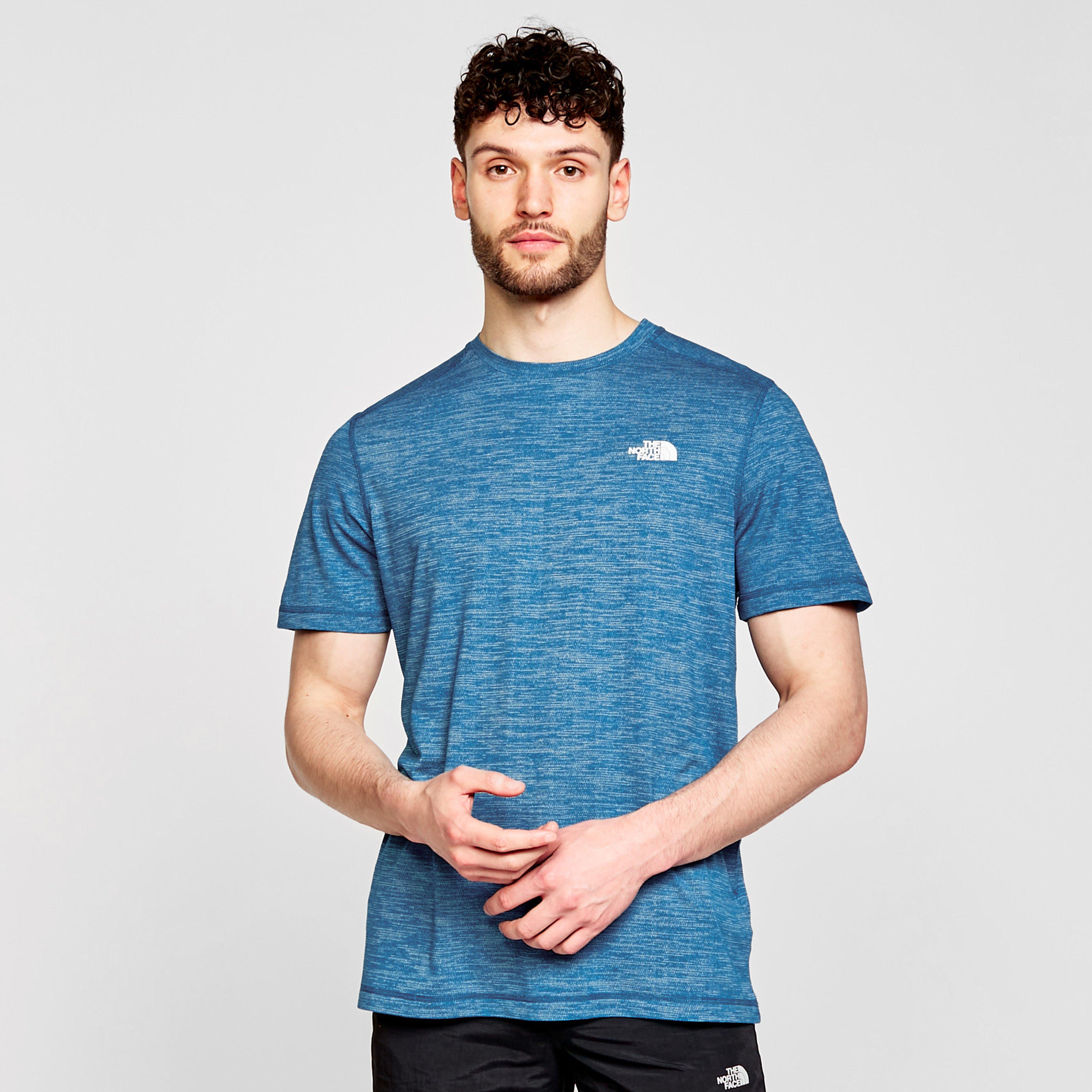 Image of The North Face Men's Lightning T-Shirt - Blue/Blue, Blue/Blue
