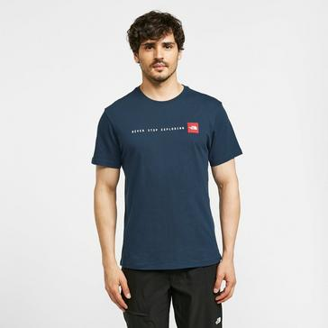Blue The North Face Men's NSE Short Sleeve Tee
