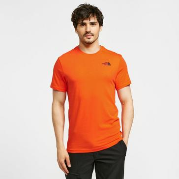 Orange The North Face Red Box T-Shirt