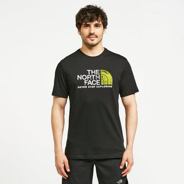 Black The North Face Men's Short Sleeved Rust 2 T-Shirt