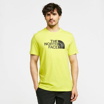 GREEN The North Face Men's Easy Short-sleeve T-shirt