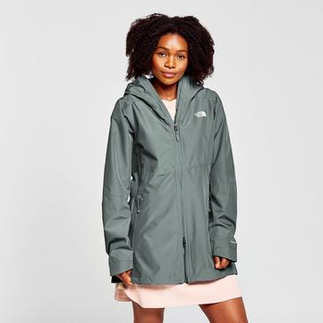 Green The North Face Women's Hikesteller Parka Shell Jacket