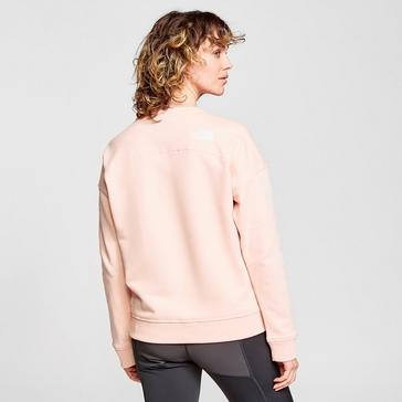 Pink The North Face Women's Drew Peak Crew Sweatshirt