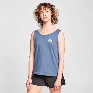 Blue The North Face Women's Simple Dome Tank Top