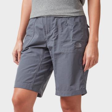 Grey The North Face Women's Horizon Sunnyside Shorts
