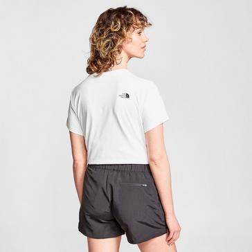 White The North Face Women's Easy Tee