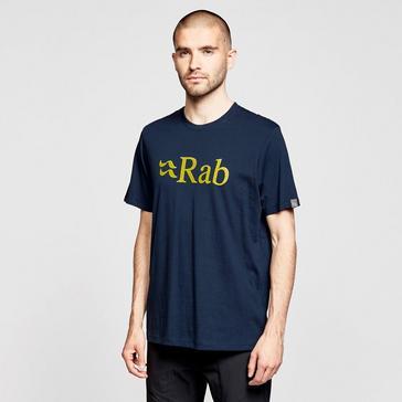 Navy Rab Men's Stance Logo Short Sleeved T-Shirt