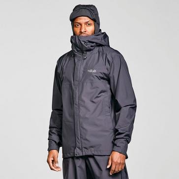 Black Rab Men's Downpour ECO Waterproof Jacket