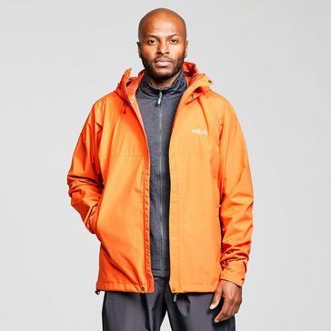 Orange Rab Men's Downpour ECO Waterproof Jacket