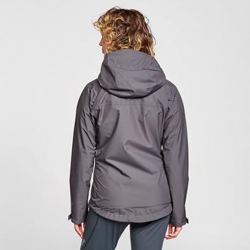 Grey Rab Women's Downpour ECO Waterproof Jacket