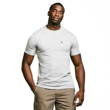 Grey Berghaus Men's Classic Big Logo T-Shirt