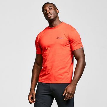 Red Berghaus Men's Colour Logo T-Shirt