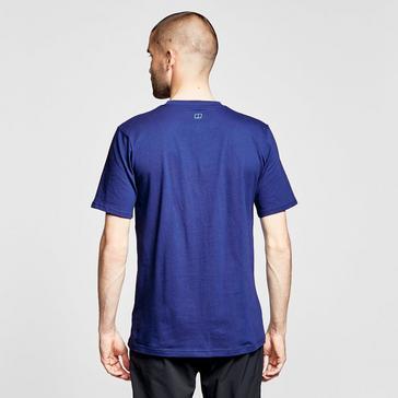 Blue Berghaus Men's Modern Mountain T-Shirt