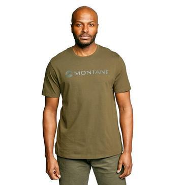Khaki Montane Men's Mono Logo T-Shirt