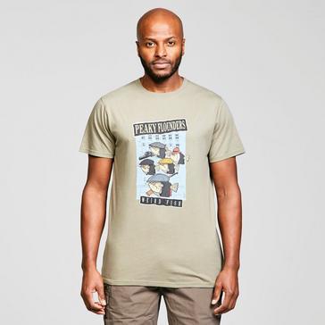 Grey Weird Fish Men's Peaky Flounders T-shirt