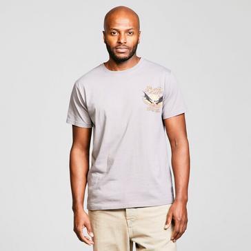Grey Weird Fish Men's Batclam T-Shirt