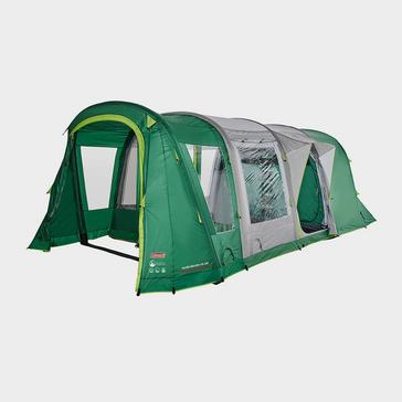 Green COLEMAN Valdes Deluxe 4 XL Air BlackOut Bedroom Family Tent
