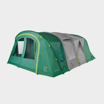 Green COLEMAN Valdes Deluxe 6 XL Air BlackOut Bedroom Family Tent