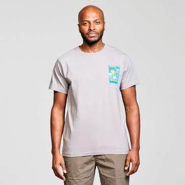 Grey Weird Fish Men's Monty Flython RSPB Artist T-Shirt