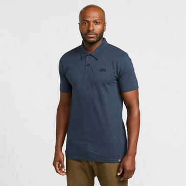 Navy Weird Fish Men's Quay Polo Shirt