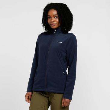 Navy Craghoppers Women's Petra Full Zip Fleece