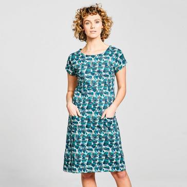 Green Weird Fish Women's Tallahasse Dress