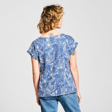 Blue Weird Fish Women's Paw Paw T-Shirt