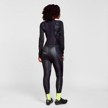 Black Gore C3 Women GORE® WINDSTOPPER® Bib Tights+