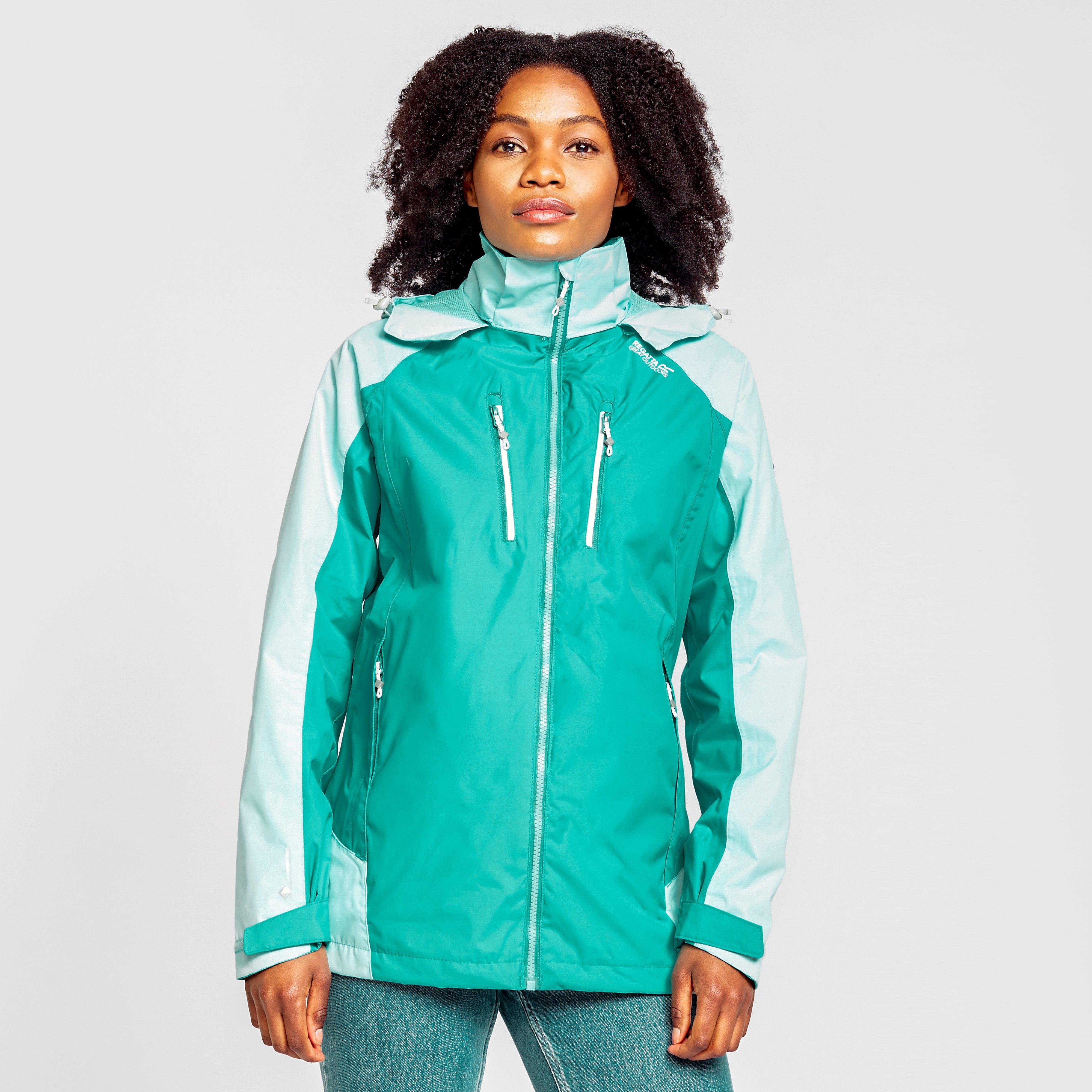 Regatta Women's Calderdale Iv Waterproof Jacket - Jk/Jk, JK/JK