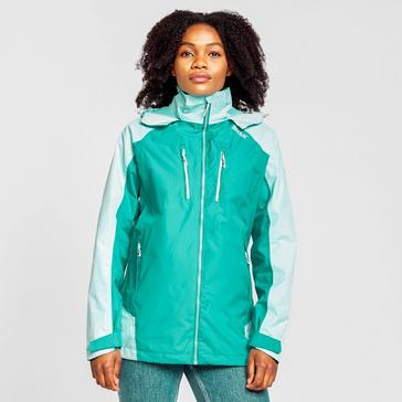 Turquoise Regatta Women's Calderdale IV Waterproof Jacket
